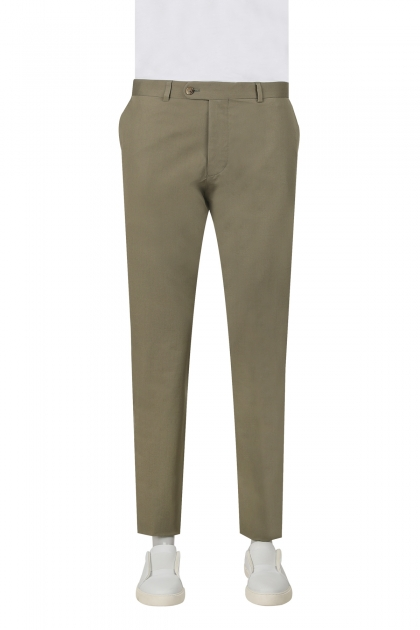 PANTALONI SMART CASUAL SLIM FIT D'S DAMAT