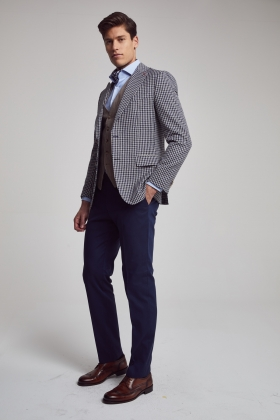 COSTUM CU VESTA SLIM FIT D'S DAMAT