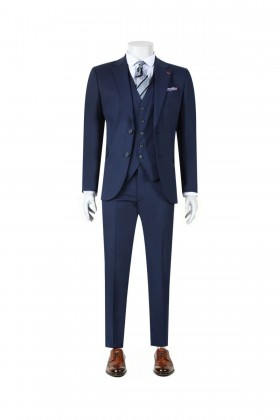 COSTUM CU VESTA D'S DAMAT SLIM FIT